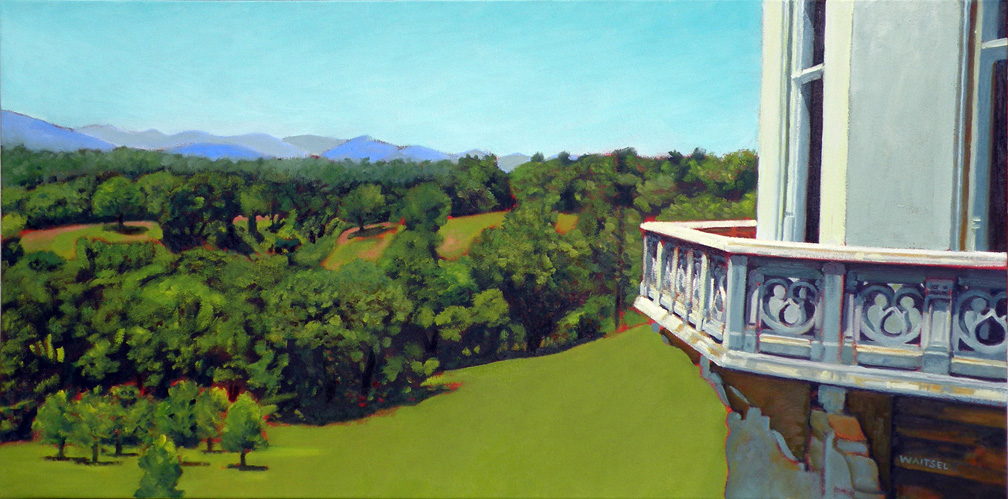 Biltmore View Looking West- Original Oil Painting by Waitsel Smith