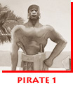 Waitsel Ink Illustration Pirate 1: Black Caesar