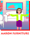 Aaron Furniture Storyboard for Carroll-White Advertising