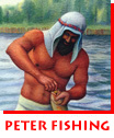 Peter Fishing for Money