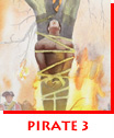 Pirate 3 - Black Caesar Being Burned