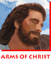 "Waitsel Watercolour Illustration ""Safe in the Arms of Christ"""